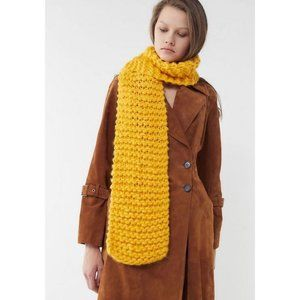 Urban Outfitters   NWT Chunky Knit Scarf